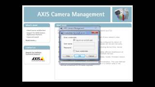 Configuration tip: How to enable Onvif in a Profile S Conformant AXIS Network Camera