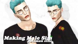 The Sims 4: Making Male Sim #4 | Alternative Style | Coleman Ellis ♡ + CC LINKS & DOWNLOADS