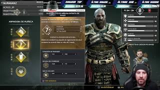 "God Of War | Directo resubido Twitch | ""Farmeo y Valquirias"""