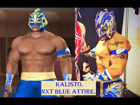 How to create Kalisto in SvR 2011 PS2 - YouTube