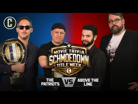Patriots VS Above The Line - Movie Trivia Schmoedown Team Title