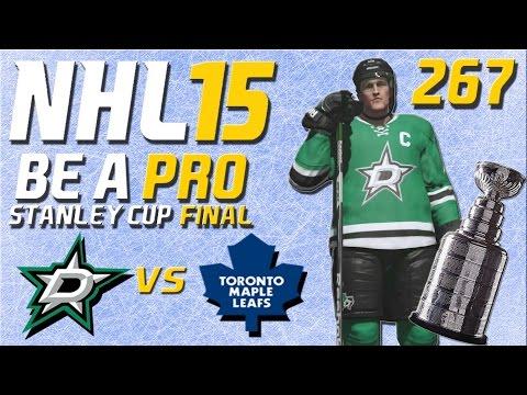 NHL 15 [Be A Pro] #267 - Dallas Stars - Toronto Maple Leafs (Stanley Cup Final Spiel 1)