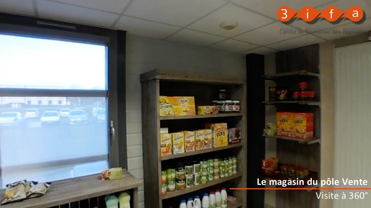 Visite A 360 Du Magasin Premiere Scene