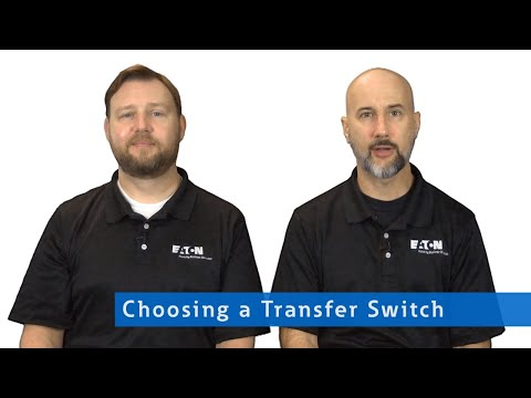 Choosing a Transfer Switch