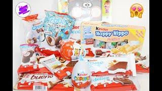 """""""Такой разный КИНДЕР"""" ! Kinder Mix! Много сладостей от Киндер!!  Сладкоежкам не смотреть!!!"""