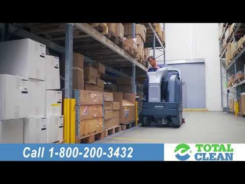 Industrial Floor Cleaning Equipment Including Walk Behind & Riding Sweepers, Floor Scrubbers
