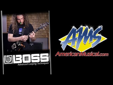 Boss RC1 Advanced Looping Techniques - Boss RC1 Loop Station Guitar Pedal