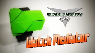 Origami Story Papertoy (part 1) - WATCH MEDIATOR - deyeight collection 2018