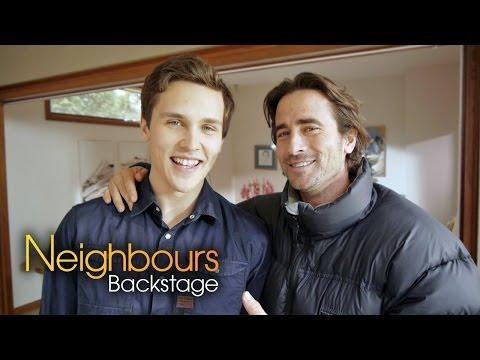 Neighbours Backstage: Kip Gamblin Brad Willis