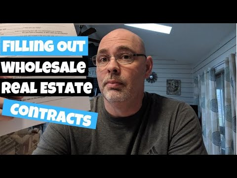 Wholesale Real Estate Contracts - Purchase Agreement