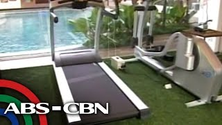 Kris TV:  Coco Martin shows off his gym
