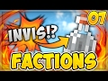"SAICOPVP FACTIONS BLAZE | EPISODE 7: w/ Generzon ""MY FIRST INVIS RAID!?"""