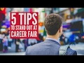 5 Tips to Stand Out at Career Fair