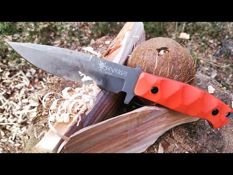 Нож SEVERUS Kizlyar Supreme. Уличный тест