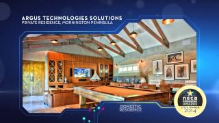 NECA VIC Excellence Awards 2014 for Domestic Residence, Argus Technoloiges Solutions