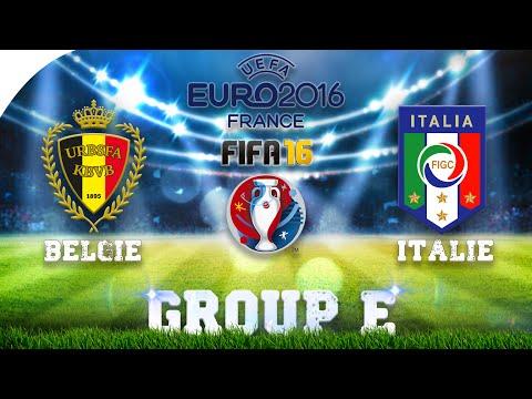 DE RODE DUIVELS! | BELGIE-ITALIE (FIFA16)