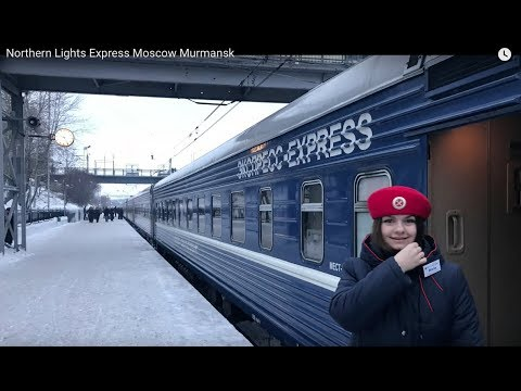 Northern Lights Express Moscow Murmansk