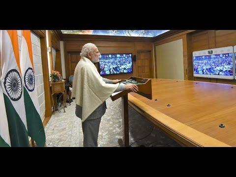 Download PM Shri Narendra Modi at 47th Tughlak Anniversary via Video Conferencing