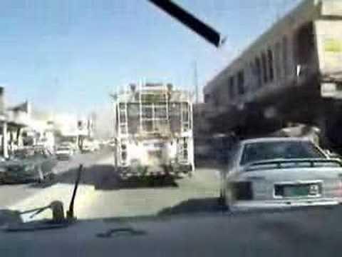 American Driving In Baghdad