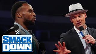 Happy Corbin attempts to buy Big E s Money in the Bank contract SmackDown Aug 27 2021