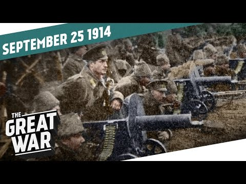 The Russian War Machine And The Race To The Sea I THE GREAT WAR - Week 9