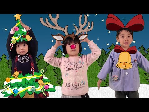 Christmas Tree, Reindeer, Bell | Christmas Song for Kids