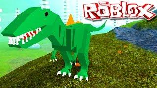 "Dinosaur Simulator - Caçando Stegosaurus! ""Concavenator"" | ""Roblox"" (#34) (Gameplay/PT-BR)"