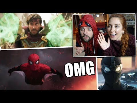 SPIDER-MAN FAR FROM HOME FRAGMAN TEPKİSİ