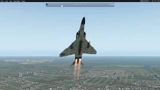 X-Plane 11 McDonnell Douglas F-4 Phantom exhibition