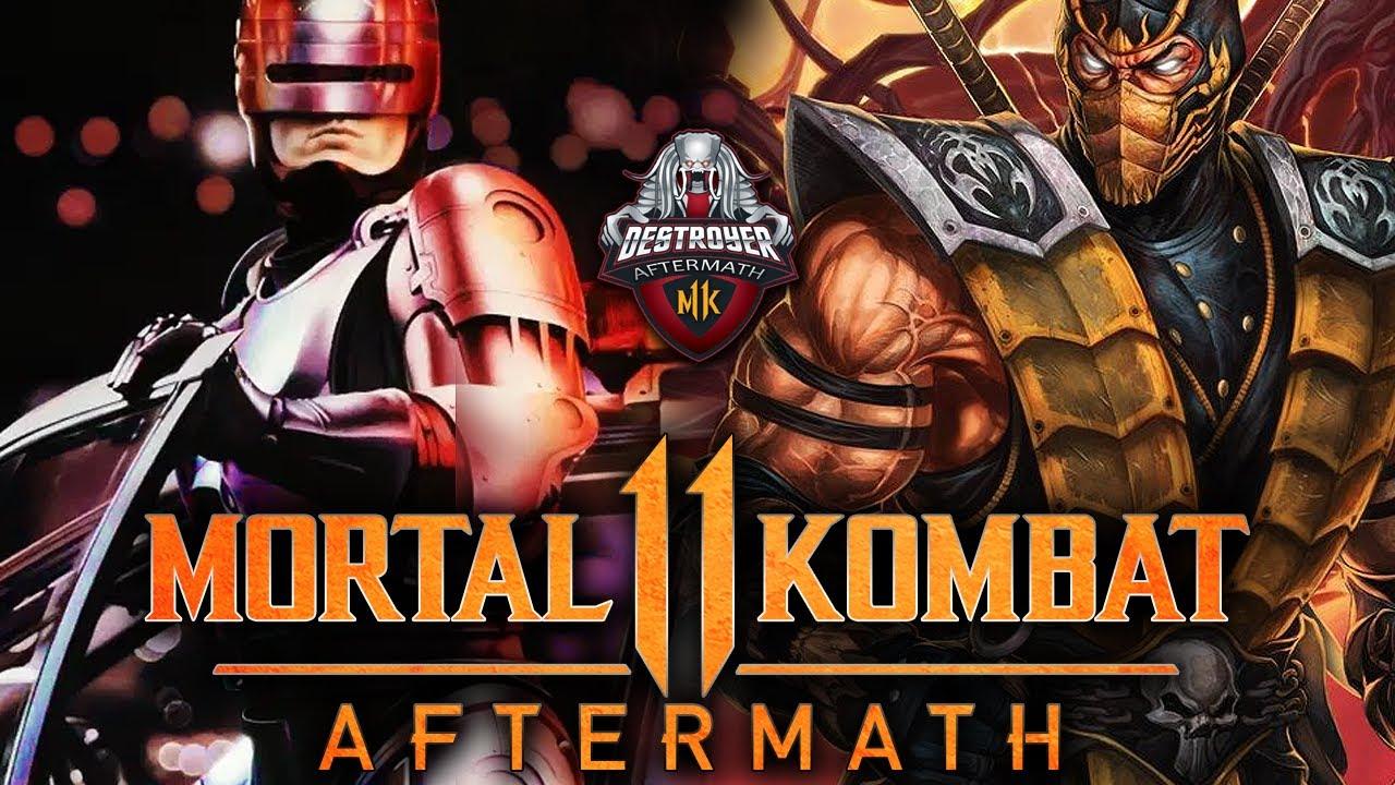 ROBOCOP IN TOURNAMENT! - 2ez vs Sooneo - Aftermath Qualifier 1 - MK11