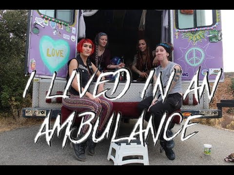 I LIVED IN AN AMBULANCE   Q AND A (Get to know me better)