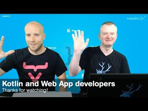 Webinar: Kotlin and Web App development