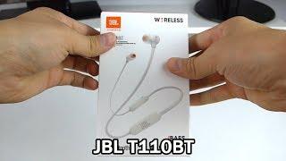 Обзор наушников JBL T110BT
