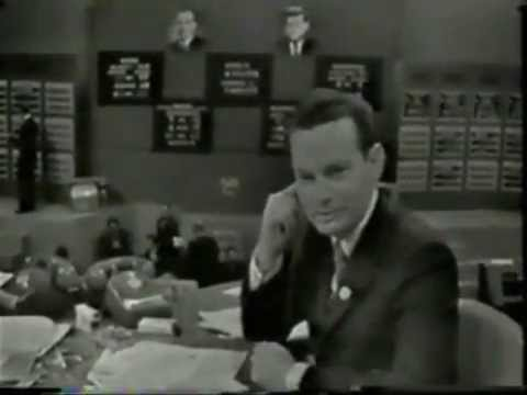 JFK IS ELECTED PRESIDENT (NBC-TV CLIPS) (NOVEMBER 1960)