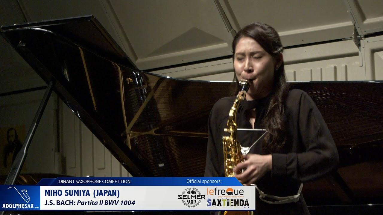 Miho Sumiya (Japan) - Partita II BWV1004 by J.S.Bach (Dinant 2019)