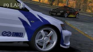 Need for Speed Most Wanted (NFS MW 2005)- All Blacklist Entrances