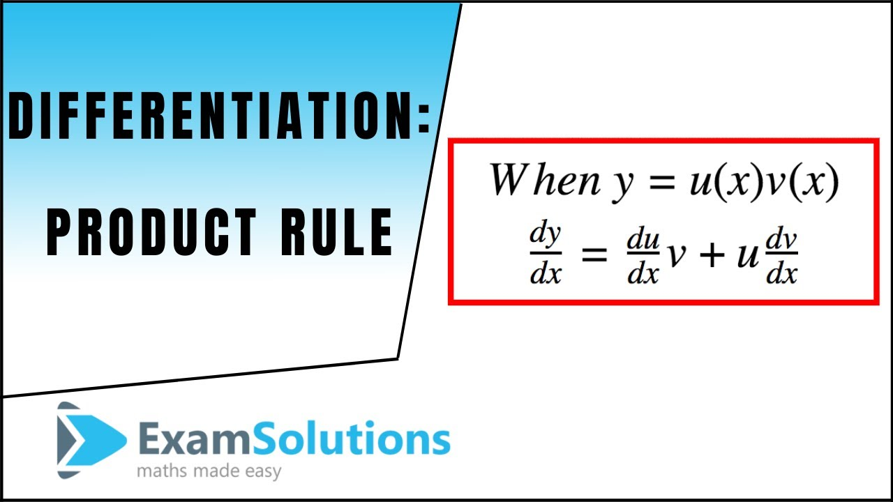 Differentiation Product Rule With Worksheets Videos Activities
