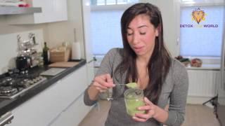Wheatgrass Recipe - Wheatgrass Dressing And Italian Salad