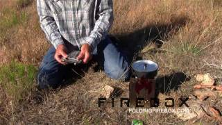 Ultimate Wood Burning Cook Stove / No Trace Campfire / B.o.b Stove