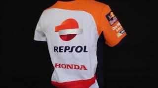 Camiseta Repsol Honda Team Oficial 2017 Equipo Blanca f2b75db6f06