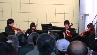 1st ヴァイオリン.....関口 太偲 / 2nd ヴァイオリン.....岩田 瑞加 /...