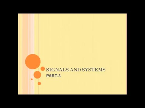 Classification of signals|Continuous and Discrete Time Signals
