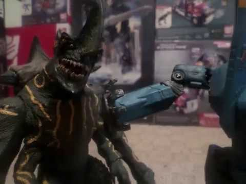 Pacific Rim Opening Scene Stop Motion [Remastered]