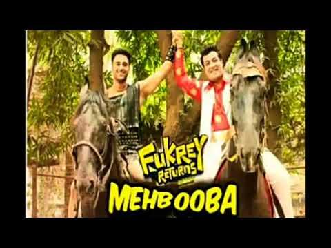 Mehbooba | Fukrey Returns | Prem & Hardeep | Mohammed Rafi, Neha Kakkar, Raftaar & Yasser Desai