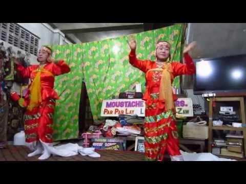 Moustache Brothers. Mandalay Myanmar