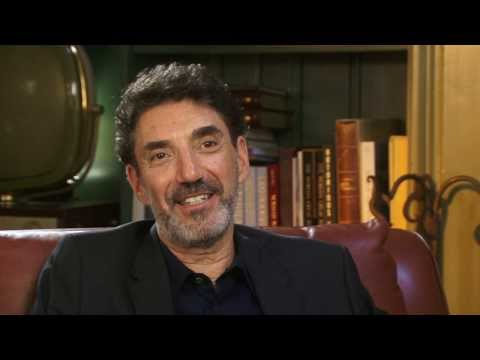 """Chuck Lorre on the """"Two And A Half Men"""" theme song- EMMYTVLEGENDS.ORG"""