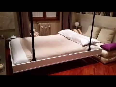 Soluzioni salva spazio letti a scomparsa nel soffitto - Scaldino elettrico da letto ...