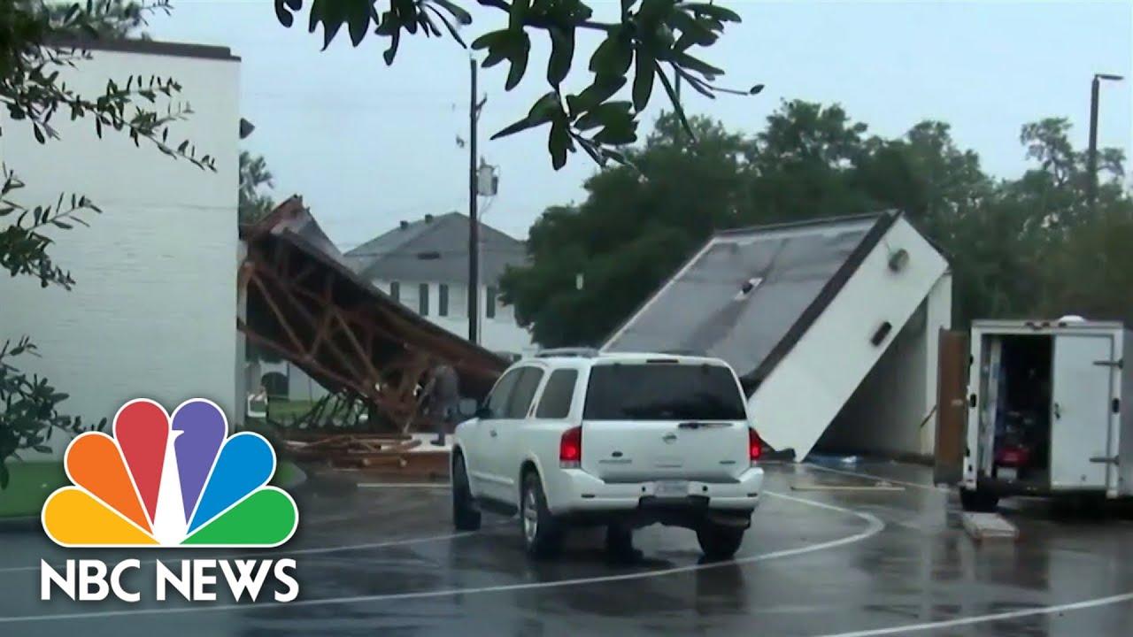 Download Nicholas Lingers Over Louisiana Region Slammed by Hurricane Ida