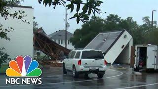 Nicholas Lingers Over Louisiana Region Slammed by Hurricane Ida
