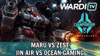 Maru vs Zest (TvP) - Jin Air vs Ocean Gaming - China Team Championship Playoffs